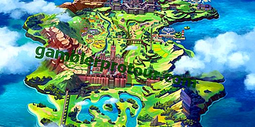 Pokemon Sword and Shield Wild Area Full Map avslöjad