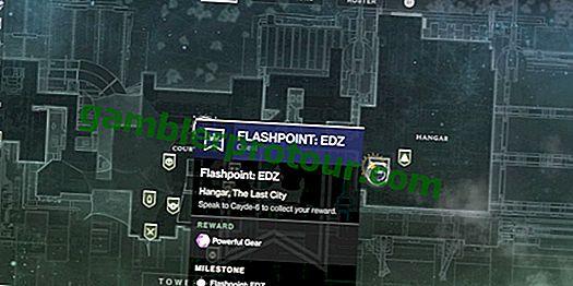 Gracz Destiny 2 tworzy sprytny sposób na zapamiętanie kolejności punktów zapłonu
