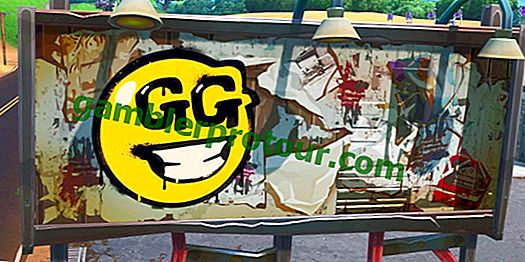 Fortnite: Gdzie znaleźć tablice reklamowe pokryte graffiti