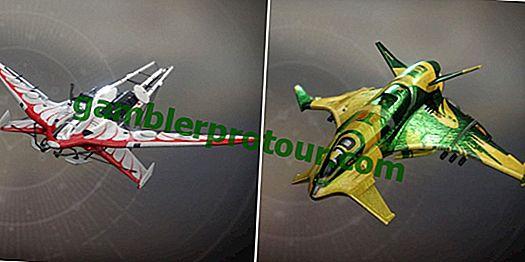 Destiny 2: 5 meilleurs navires du jeu (et les 5 pires)