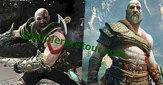 De 5 bästa pansaruppsättningarna In God Of War PS4 (& De 5 värsta)