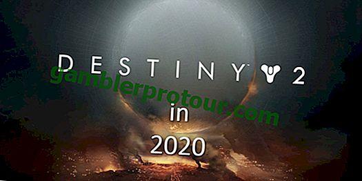 Vad man kan förvänta sig från Destiny 2 år 2020