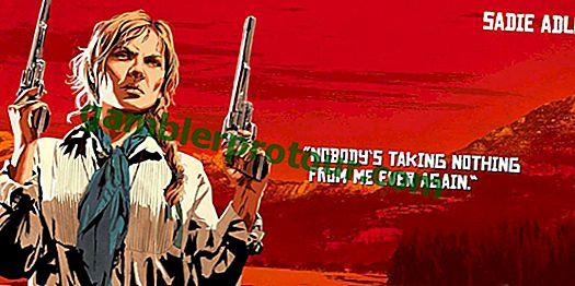 Red Dead Redemption 2에서 Sadie Adler가 Arthur Morgan과 John Marston보다 나은 5 가지 방법 2