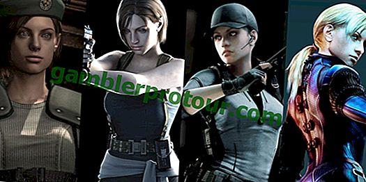 Retrospektywne spojrzenie na Jill Valentine z Resident Evil