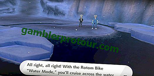 Pokemon Sword and Shield: Hur man kommer över vattnet