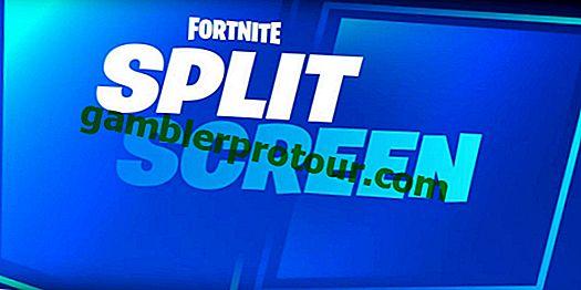 Hur man spelar Fortnite Split-Screen